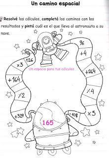 actividades de matemáticas para tercer grado ~ Tu DIOS yo = perfecto ...