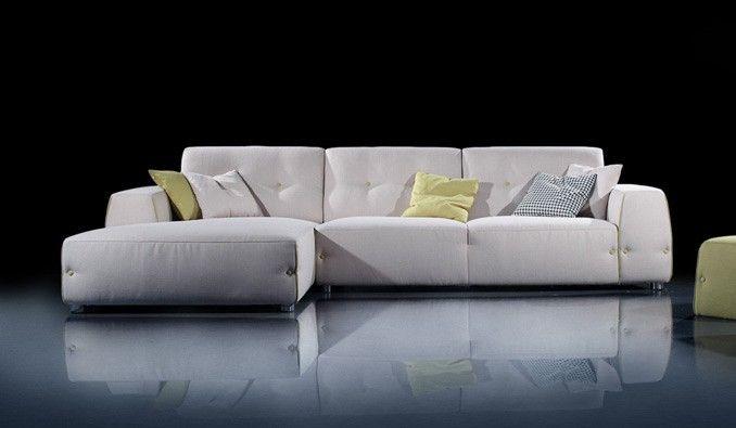 Contemporary Corner Sofa Moben 5 Colours Delux Deco Uk