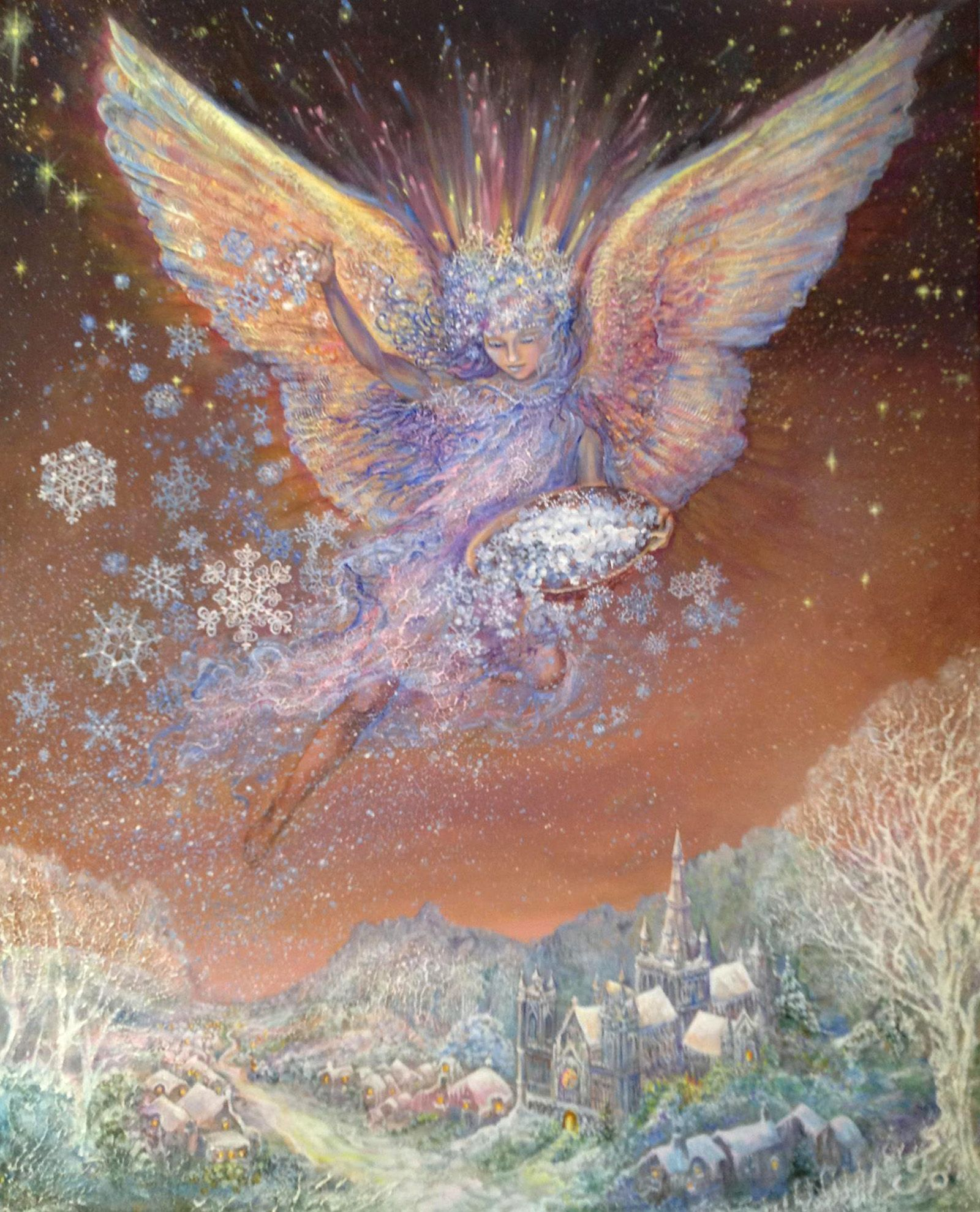 "Snow Angel 1"" par Josephine Wall Bilder"