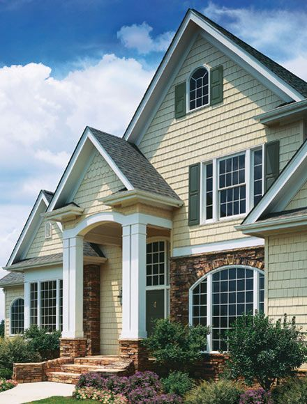 Homes With Vinyl Siding Pictures Certainteed Cedar