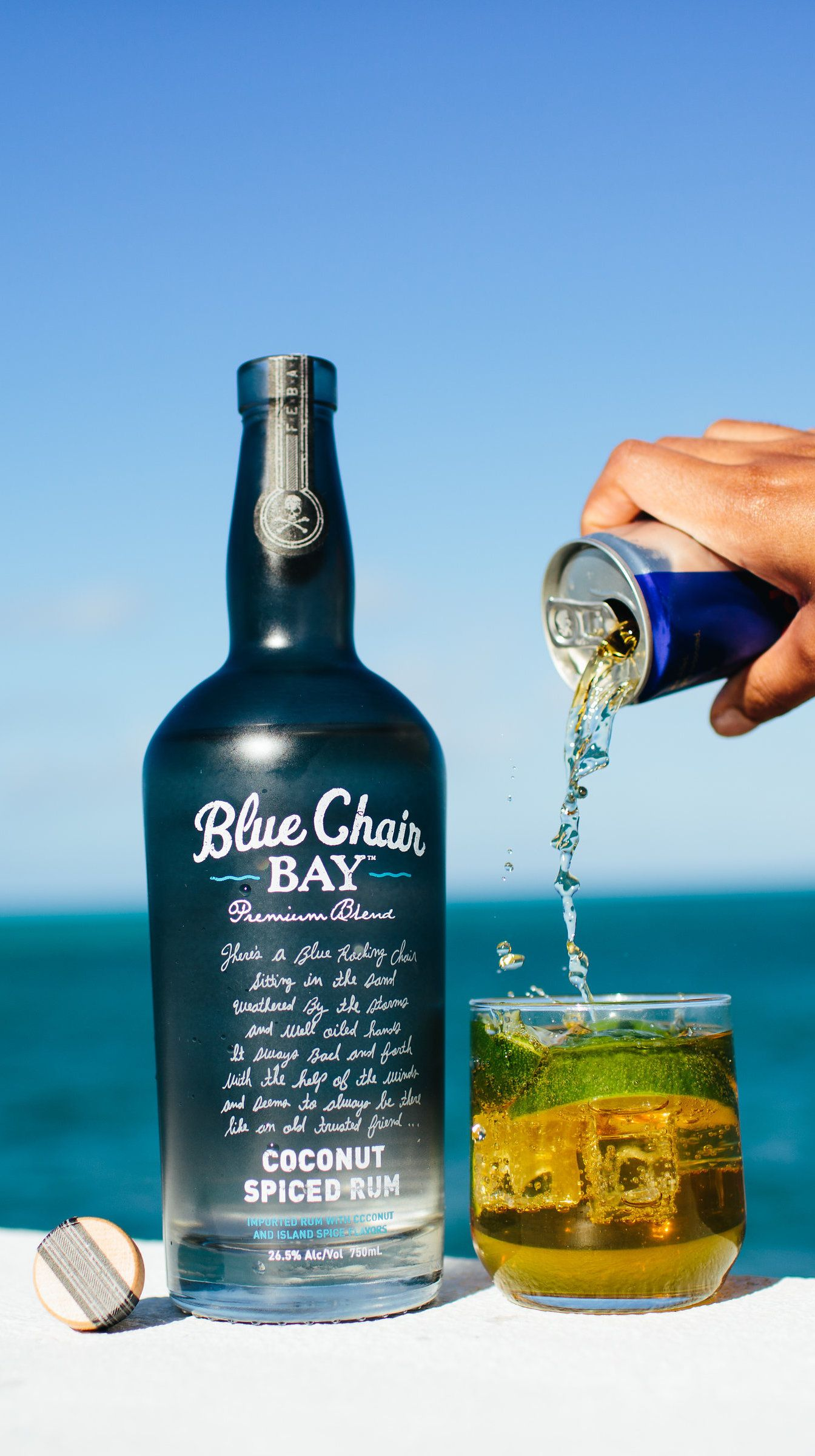 SHOOTING STAR COCKTAIL 1 5 oz Blue Chair Bay Coconut Spiced