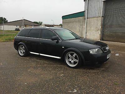 Ebay 2003 Audi A6 Allroad 25 Tdi Quattro Auto Black Spares Or