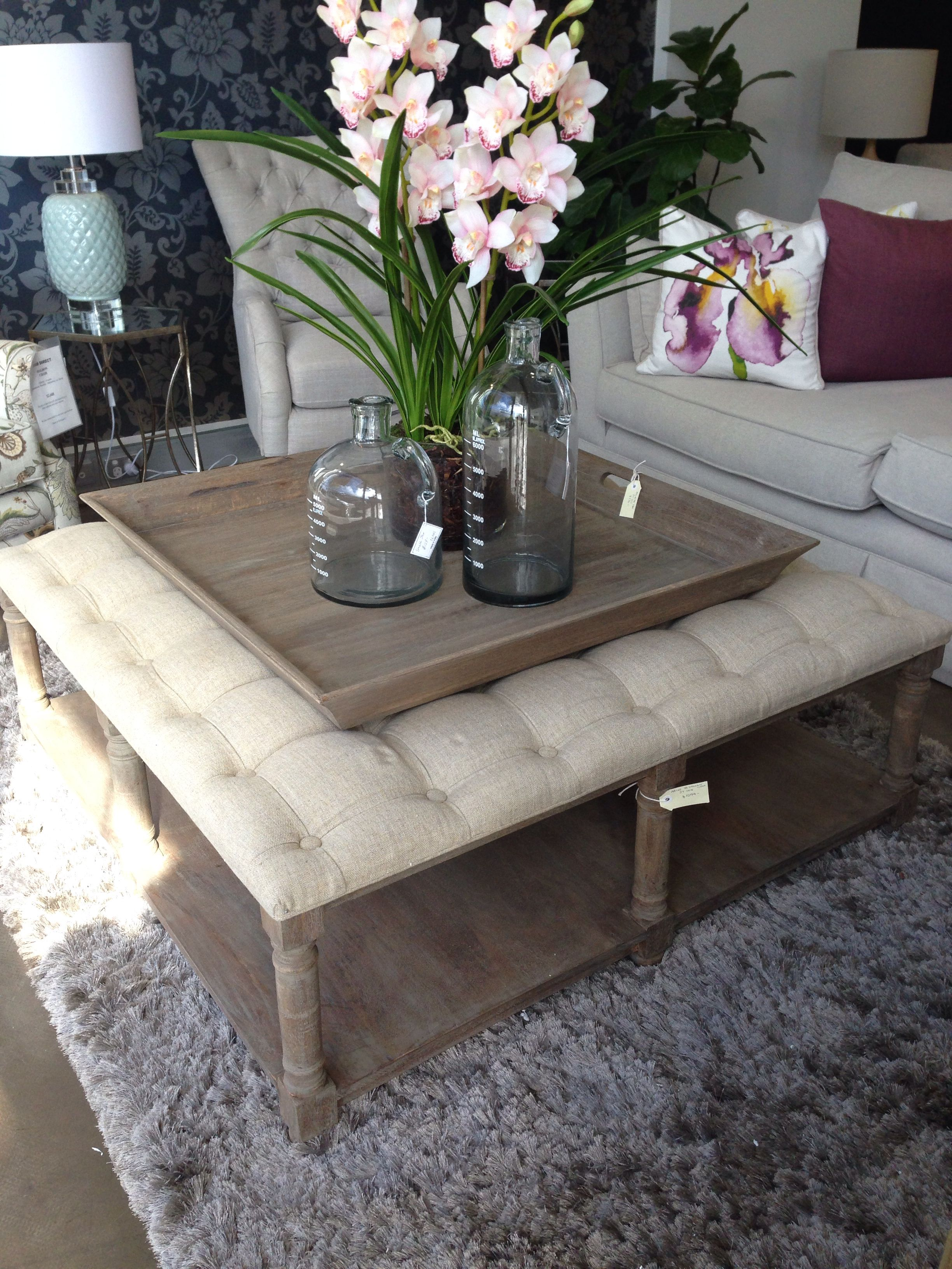 40+ Living room ottoman tray info