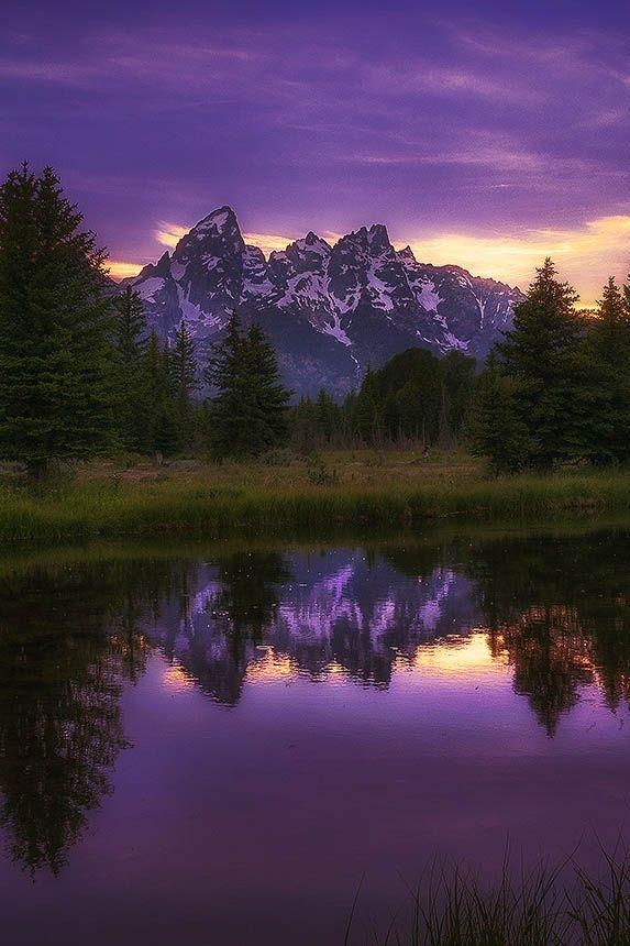 Ponderation Schwarbacher S Landing By Nathanmerrill Purple Mountain Majesty Beautiful Nature Amazing Nature