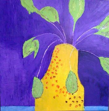 Fauvist Modern Milton Avery primitive naive art abstracted landscapes stilllifes Jill Finsen Paintings
