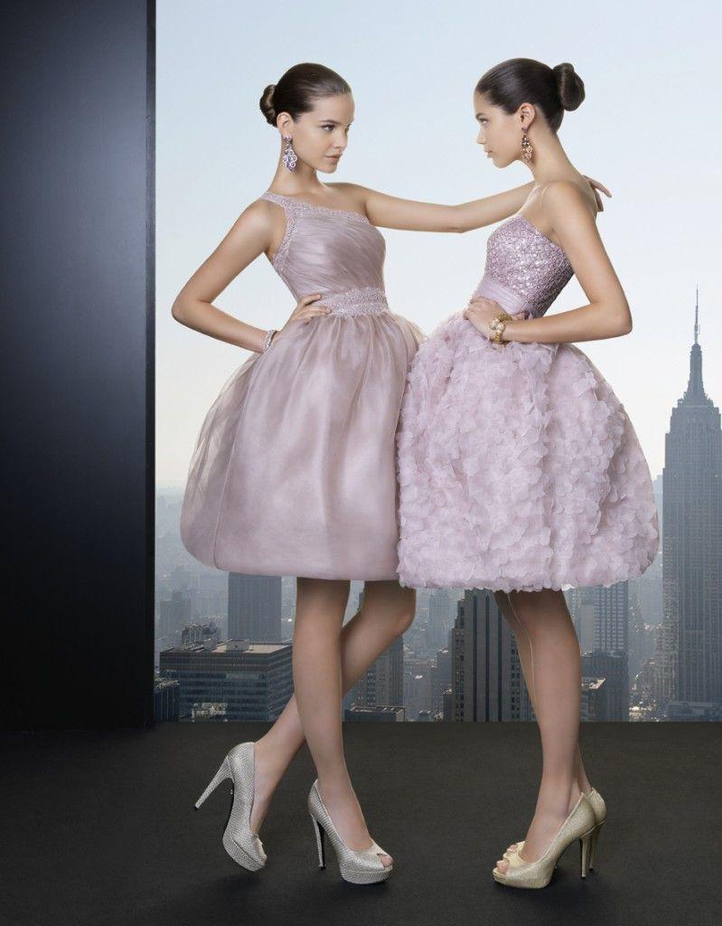 La nueva colección de rosa clará prom dresses short