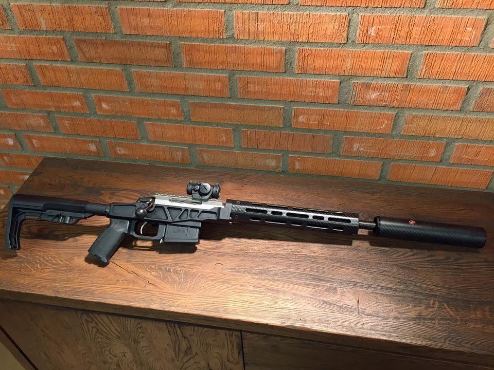 Tikka T3 Super Varmint - GP Rifle Special in 338 Federal