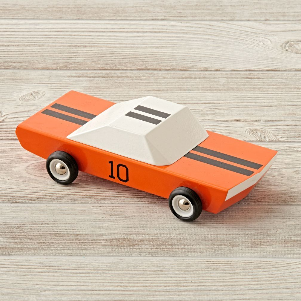 Inspired By The Classic Racecars This Wooden Toy Car Is A Throwback