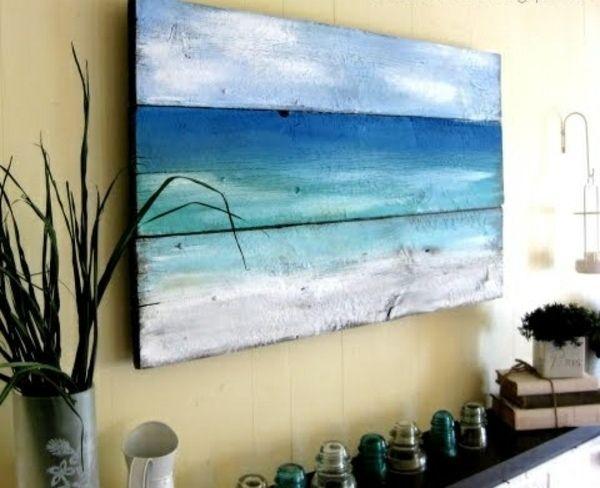 Einfache Deko Ideen-selber Machen Holzpaletten | Diane's Dream ... Badezimmer Dekoration Selber Machen
