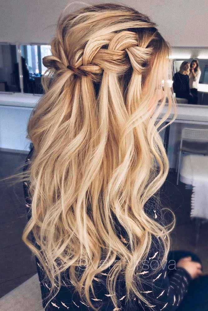 24 Prom Hair Styles To Look Amazing Prom 2k18 Pinterest