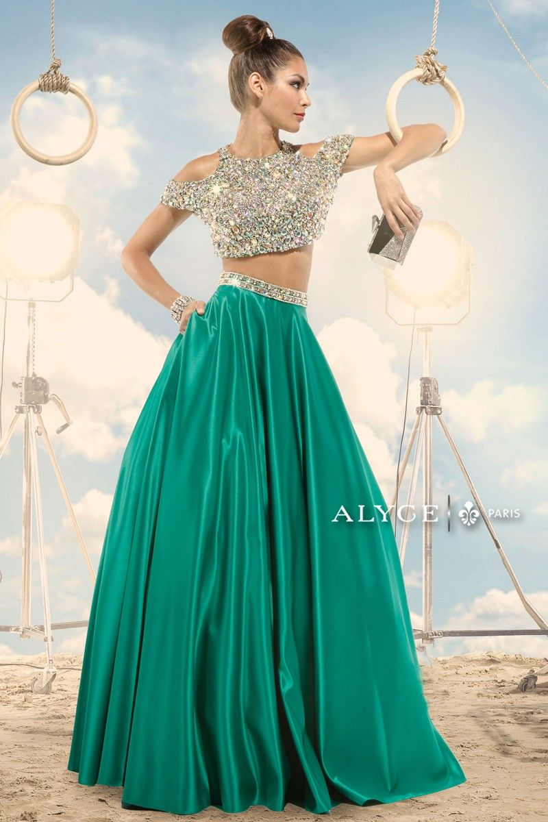 Claudine   Prom Dress Style #2474 front view of dress   Claudine for ...
