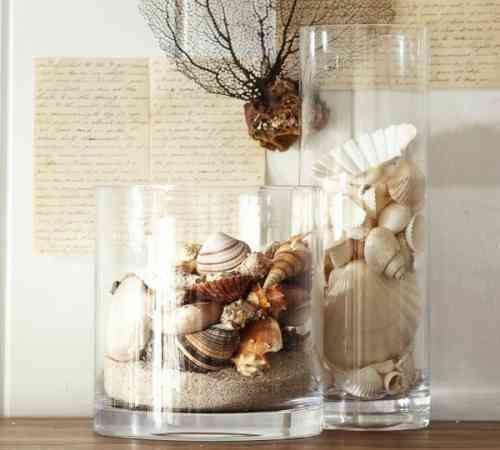 100 id es int ressantes pour la d coration de maison d co pinterest coquillage de mer. Black Bedroom Furniture Sets. Home Design Ideas