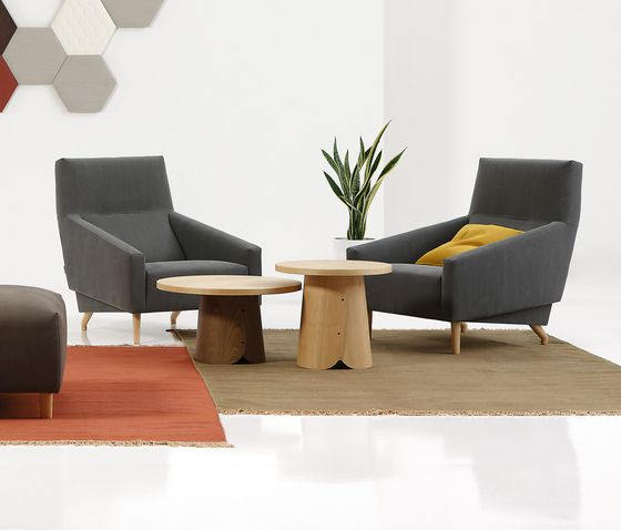 SANCAL, Spain - Tab Tables and Soul Chair, in stock in our showroom now.