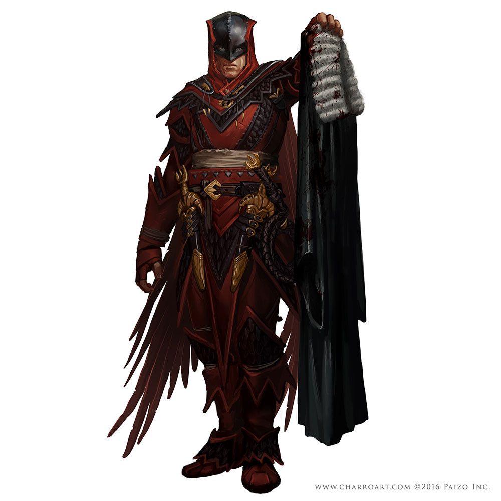 ArtStation - Pathfinder Characters II, Javier Charro ...