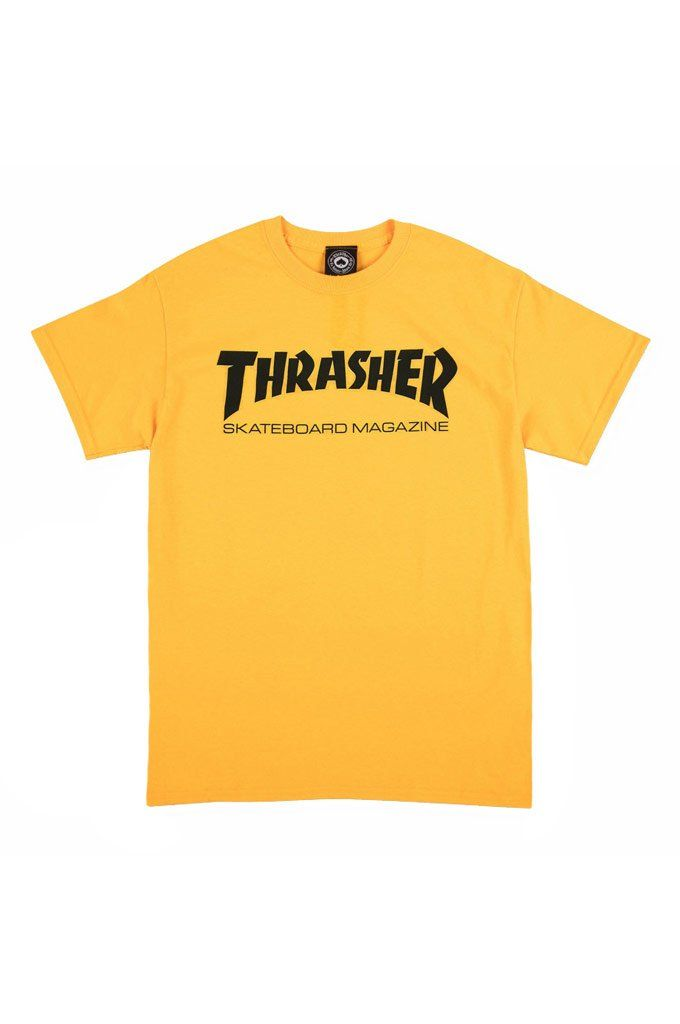 6eb5dce48ed8 The Skatemag Tee from Thrasher Magazine. Heavyweight