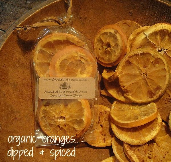Sliced Oranges Dipped and Spiced