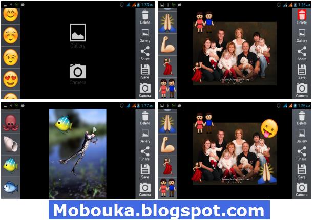 Emoji Camera Sticker Maker APK Android