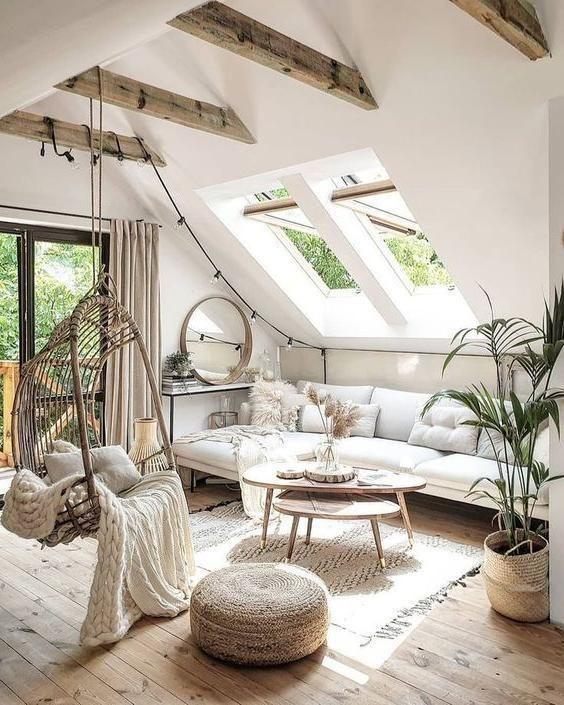 Photo of Bohemian Loft Living Room Ideas # Bohemian #ideas #living #l…