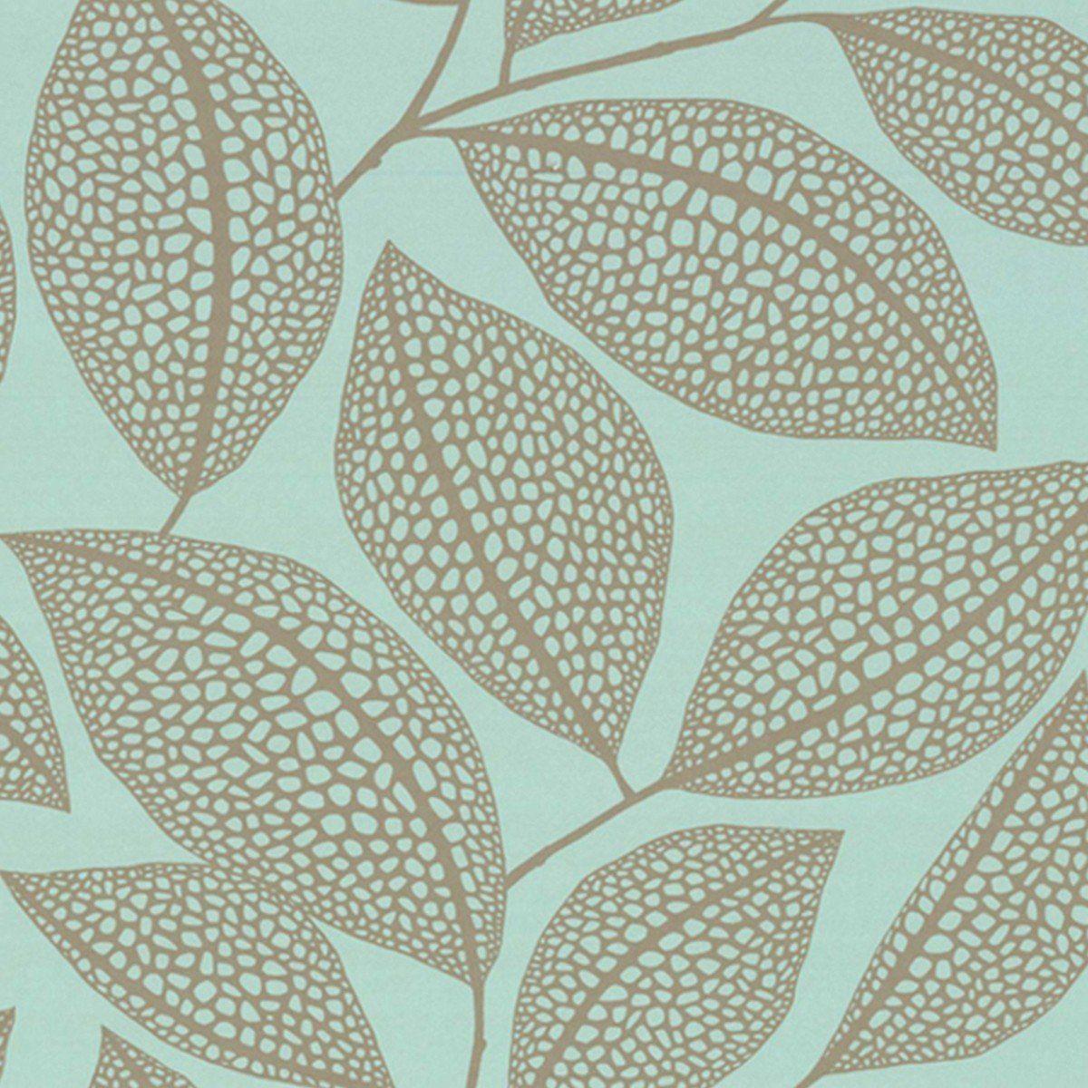 Tapete Pebble Leaf Col 02 Die Tapetenagentur Aus Den Kollektionen Florale Muster Moderne Muster Florale Mus Tapeten Floral Muster Graphische Muster