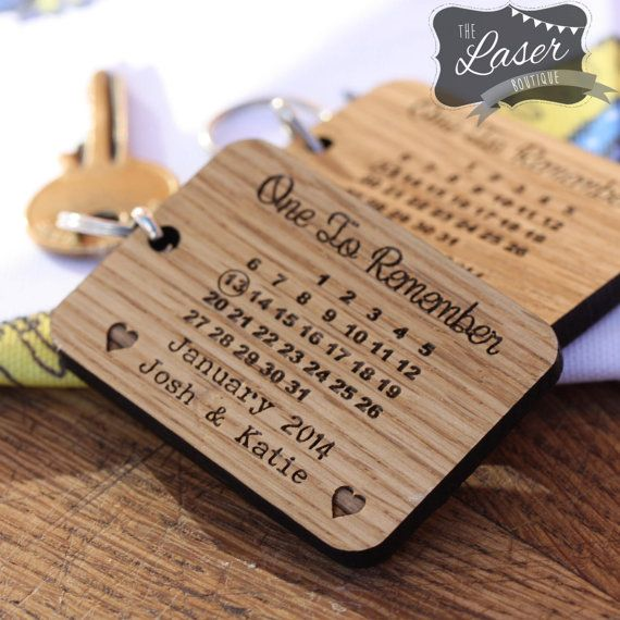 Laser Cut & Engraved Wooden One to Remember by TheLaserBoutique
