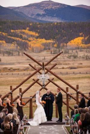 Devil S Thumb Ranch Ceremony Site Tabernash Colorado