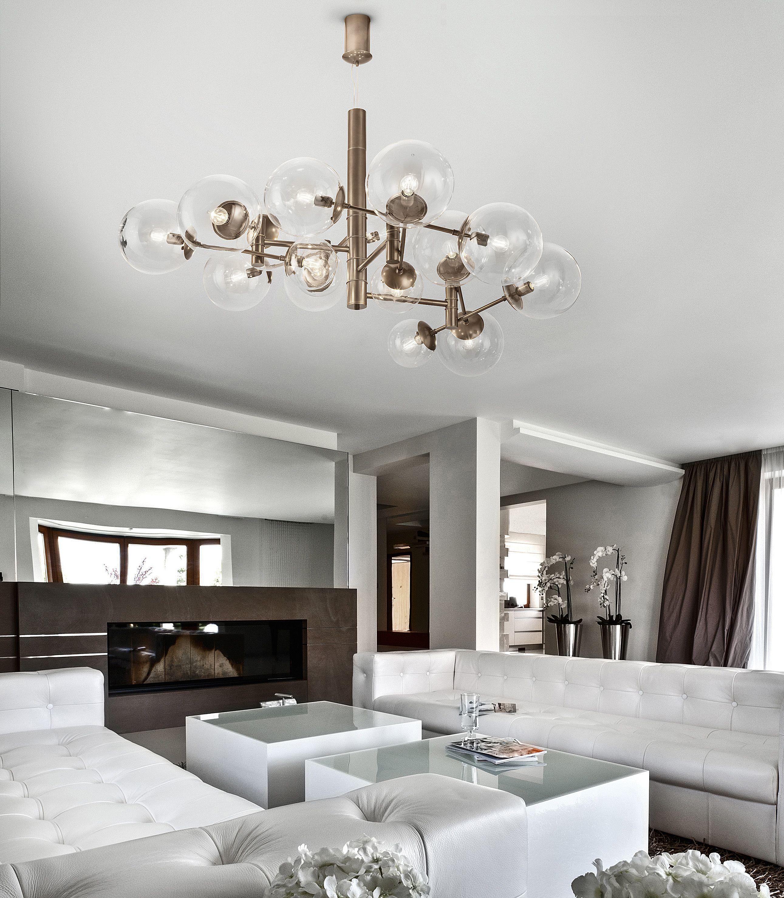 Global 16Light Pendant Living room lighting design
