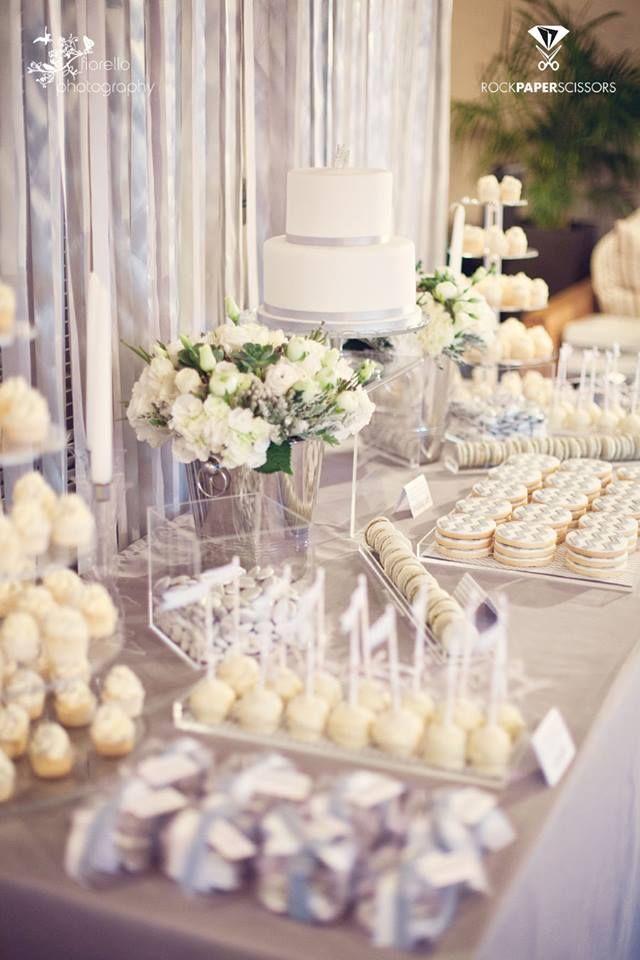 Dessert Table Bridal Shower Desserts Table White Dessert Tables Bridal Shower Desserts