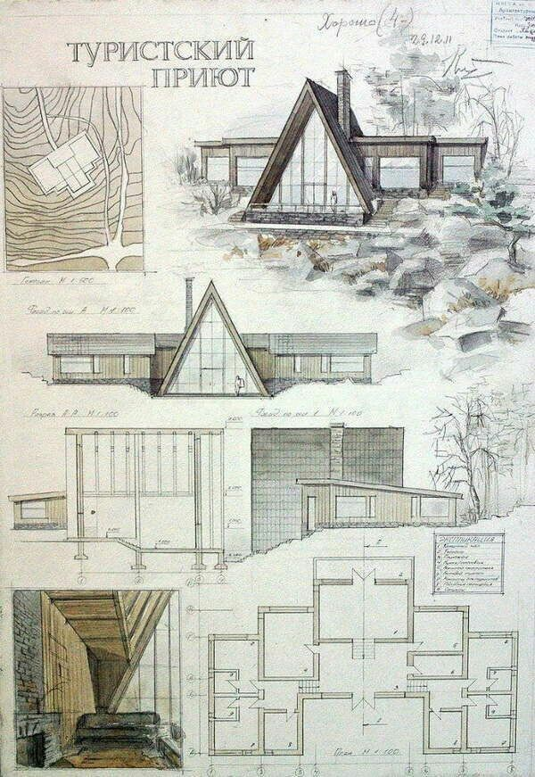 modern architectural drawings. Architecture Layout, Graphics, Modern Design, Drawing Architecture, Diagrams, Hand Drawings, Architectural Drawings M