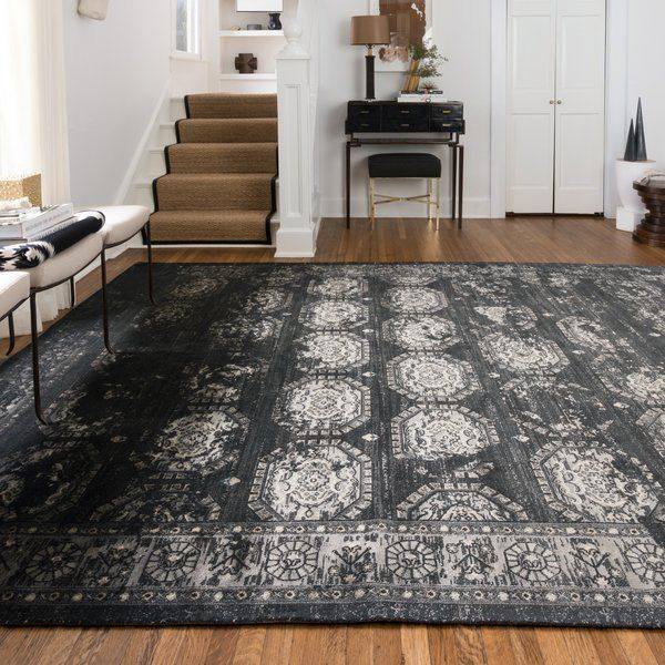 You Ll Love The Durdham Park Black Charcoal Area Rug At Joss Main With Great Deals On All Products And Free Shipping On Most Area Rugs Black Area Rugs Rugs