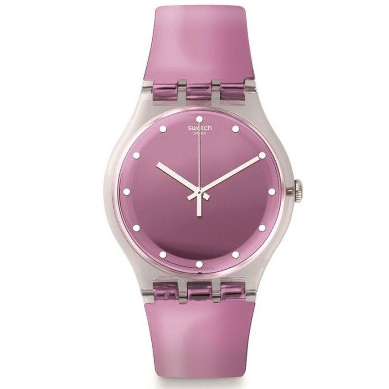 Reloj Swatch Mujer Rosegari SUOK125. Es un reloj Swatch para mujer,  analógico, fabricado
