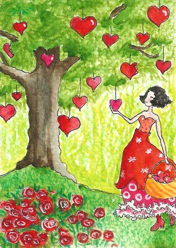 heart  tree by Myrthe Krook