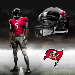 Nike Pro Combat Buccaneers....Crushing the NFL uniforms  126df0fe6