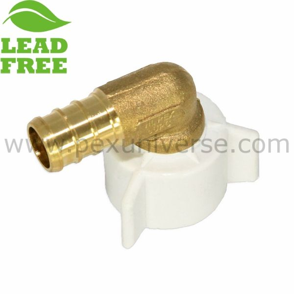 "LEAD-FREE Brass Crimp Fittings Lot of 200 1//2/"" PEX Elbows"