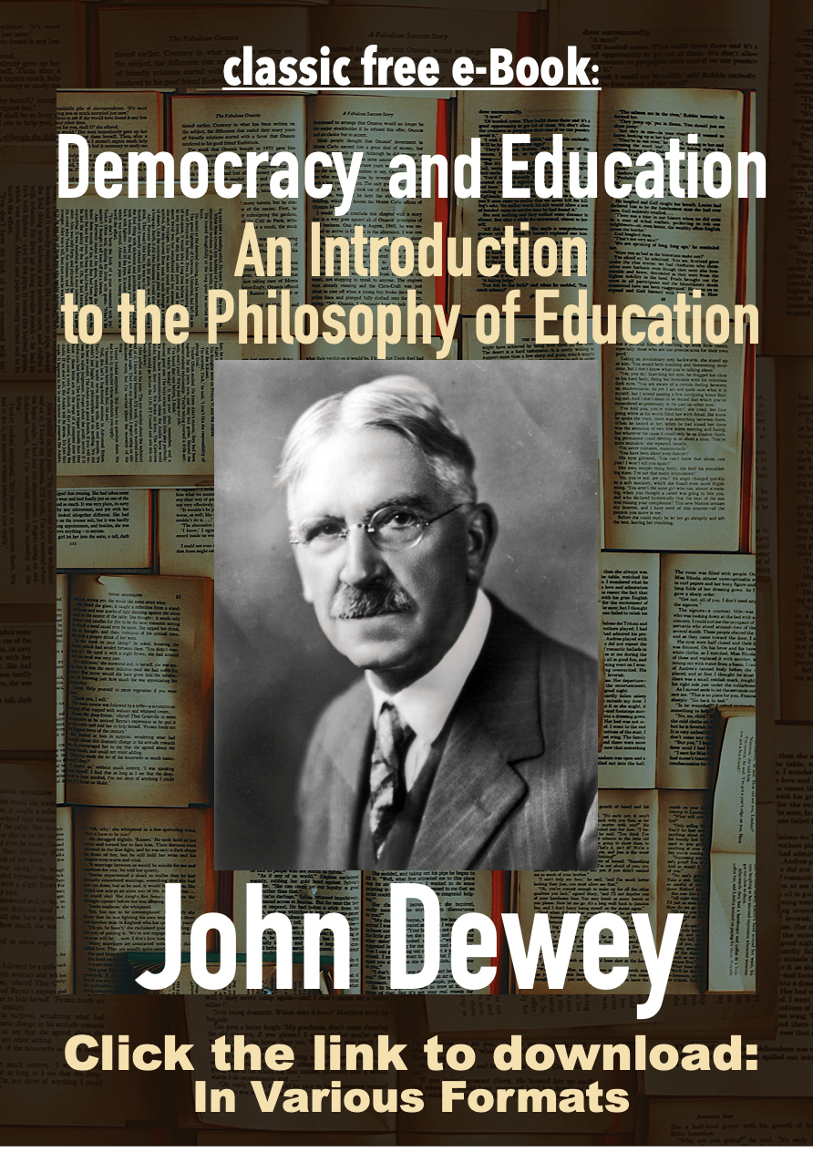 E Book Democracy Education An Introduction To The Philosophy Of Education John Dewey Free Philosophy Of Education E Book Books