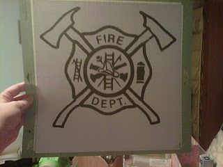 Fire Fighter Logo Fire Dept Logo Silhouette Cameo Crafts Silhouette Fonts