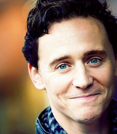 The classic Tom Hiddleston smile. The cure for any sad day.