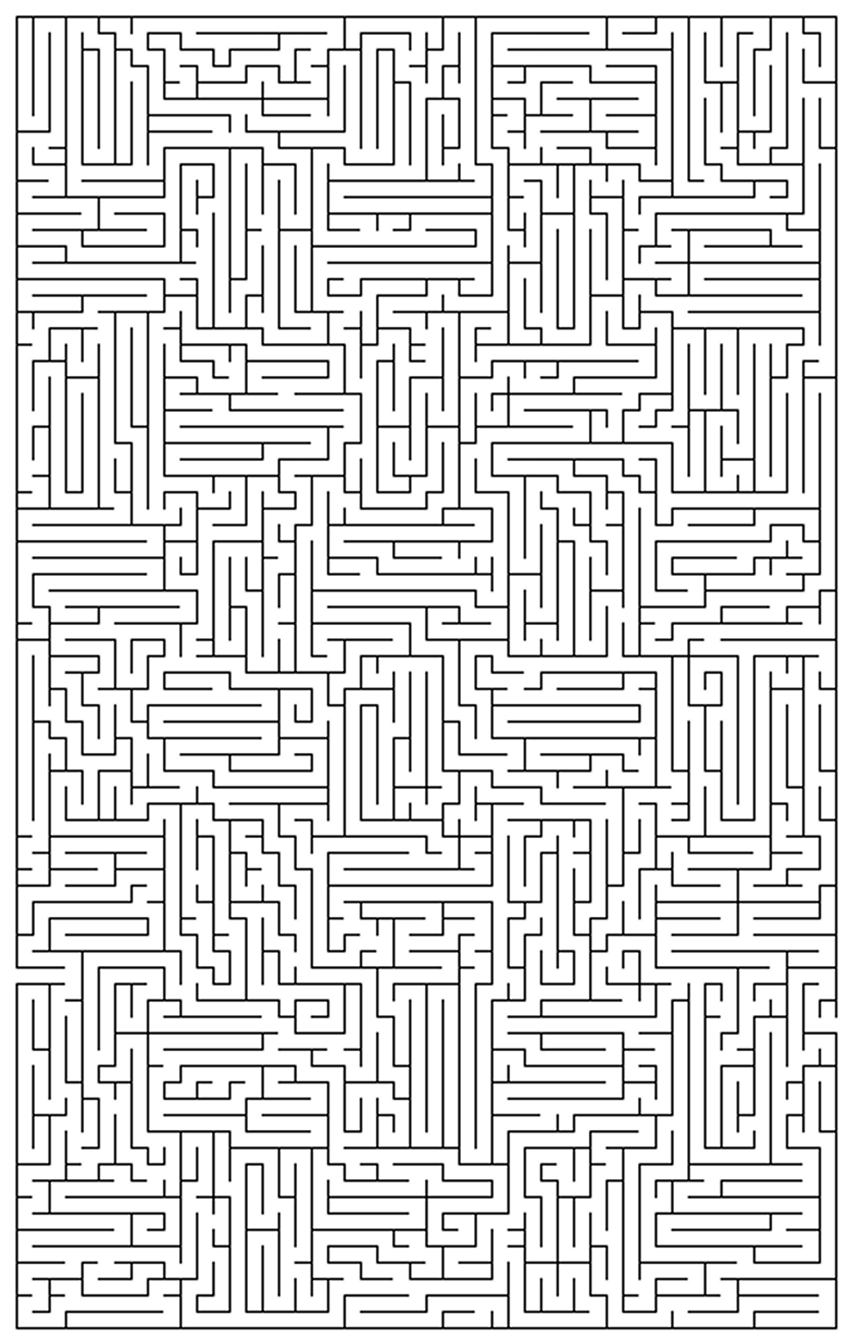 how to make a hard maze