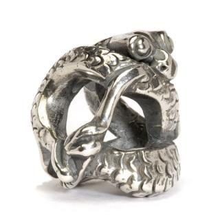 Trollbeads Silver Baby Dragon Charm Bead