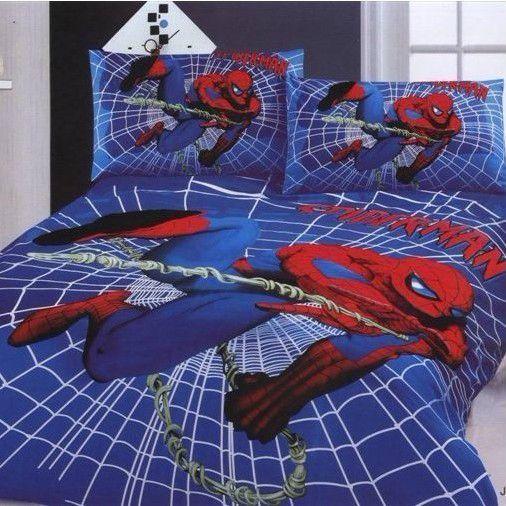 Character Spider Man Bedding Set