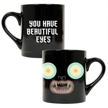 Over The Garden Wall Beautiful Eyes Black Mug
