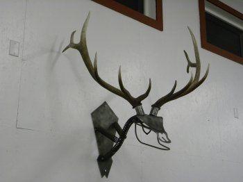 projects ideas dear head. Miller  Welding Projects Idea Gallery Welded Steel Bull Elk