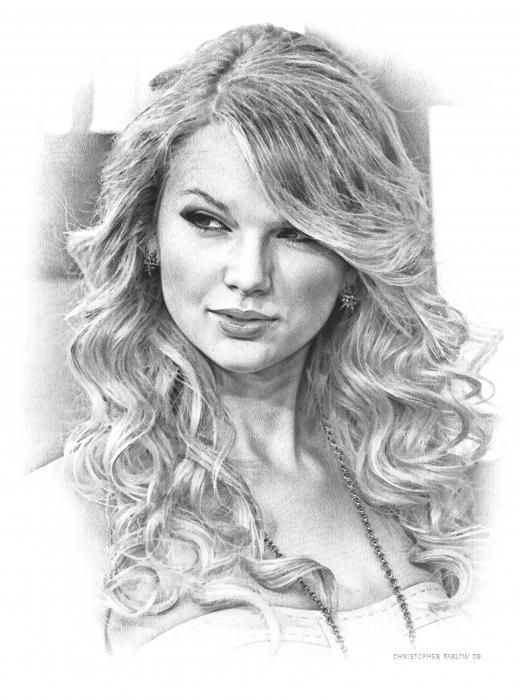 Drawing of Taylor Swift in 2019   ART Lover (1)   Pinterest ...