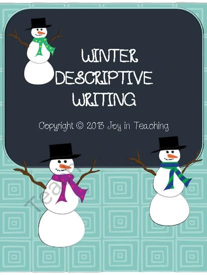 Secondary School English Essay Winter Writing Descriptive Paragraph Using Sensory Details And A Good Hook  From Joy In Teaching On Teachersnotebookcom  Pages  This Document  Includes  Compare And Contrast Essay High School And College also Essay On The Yellow Wallpaper Winter Writing Descriptive Paragraph Using Sensory Details And A  Best Business School Essays