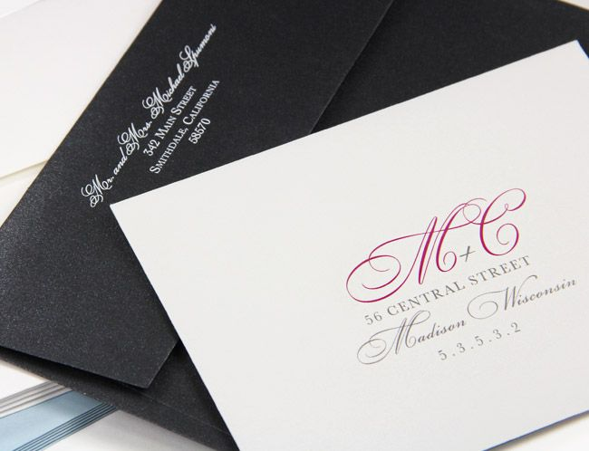 Cotton And Metallic Invitation Envelopes Printed With Custom