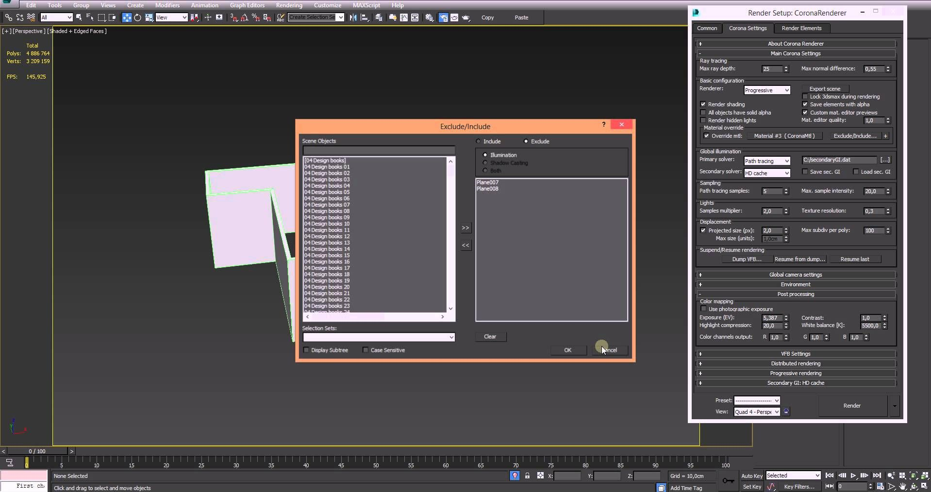 How to set up HDR Lighting in Corona Render | 3ds max in