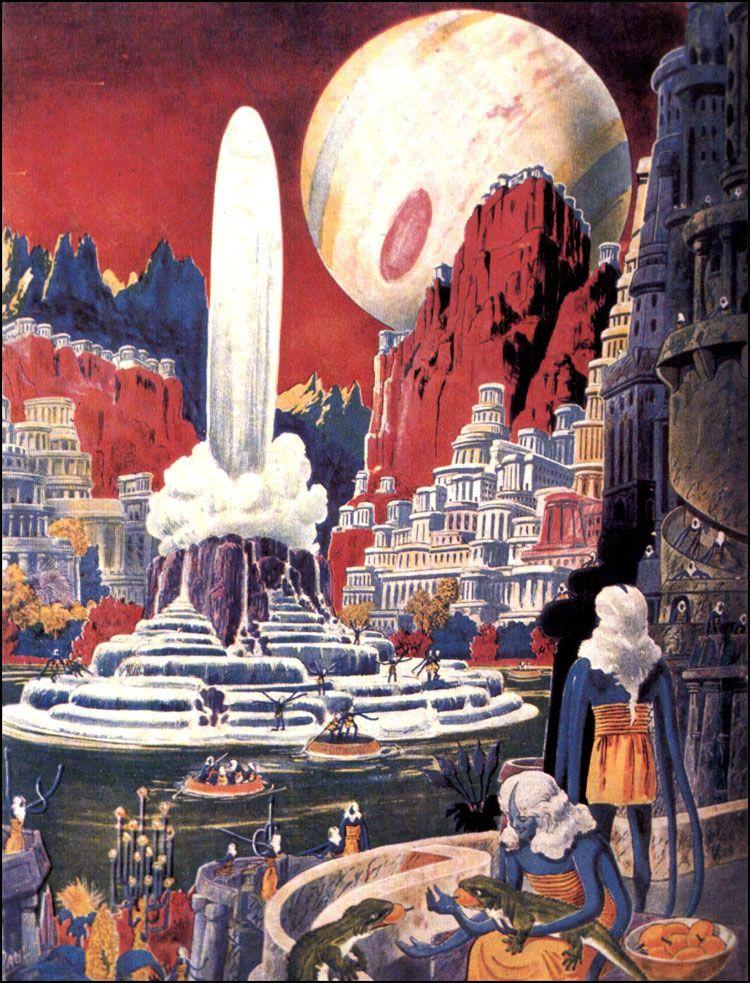 retro_futurism: Frank R. Paul Illustrations