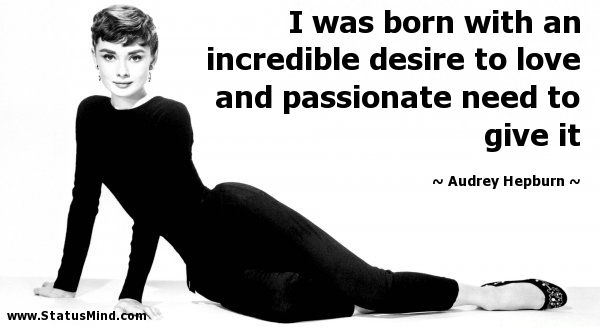 The late great Audrey