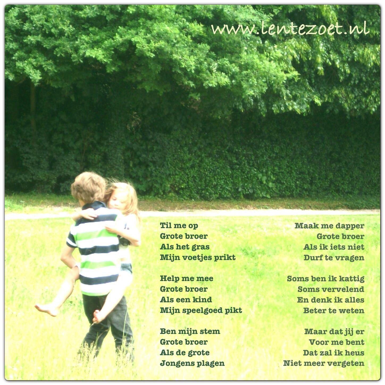 Citaten Over Broers : Grote broer m angls pinterest gedichten en