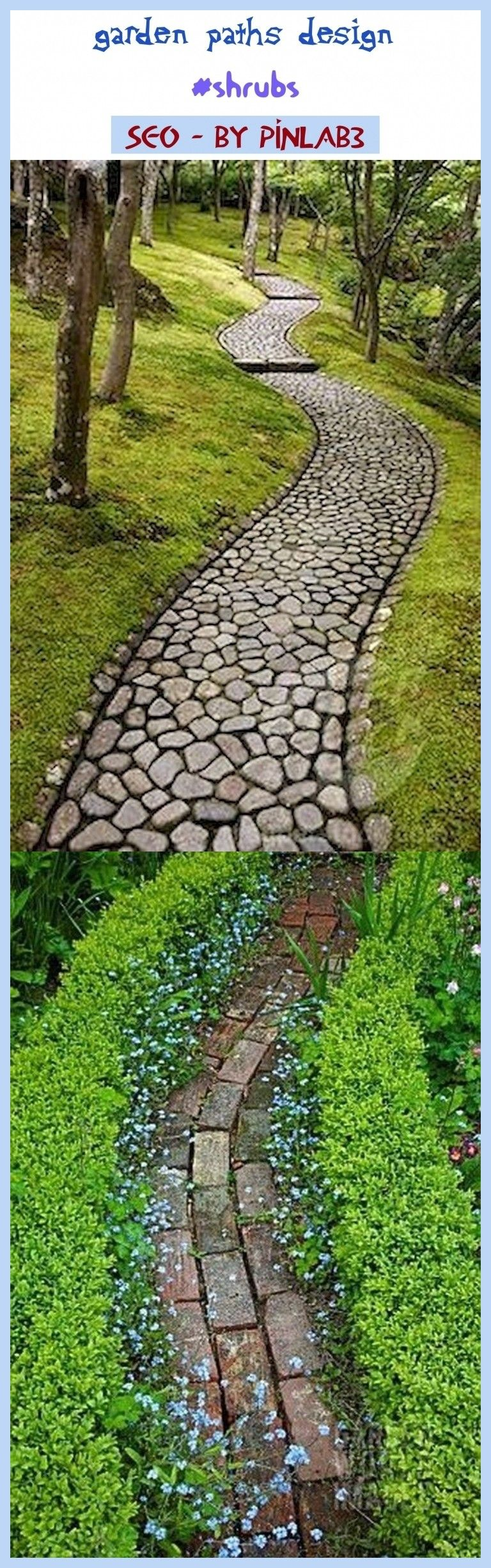 Photo of Garden paths design #shrubs #gardens. garden paths and walkways, garden paths ch…