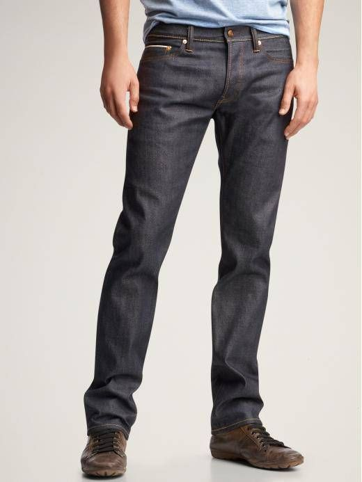 Nice, dark jeans. No rips. Not too baggy or too tight. | Men's ...